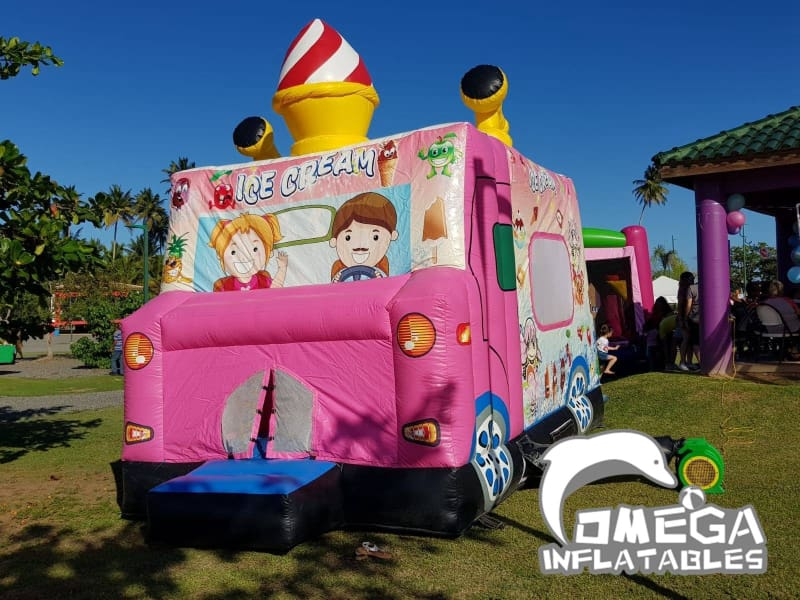 Inflatable Ice Cream Truck