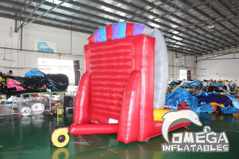 Inflatable Interactive Plinko Game - Omega Inflatables