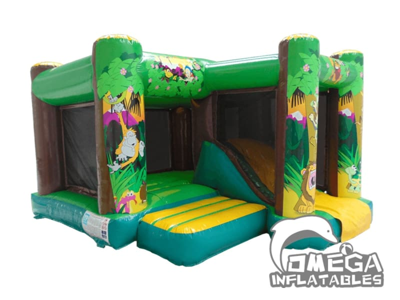 Inflatable Jump n Slide Combo