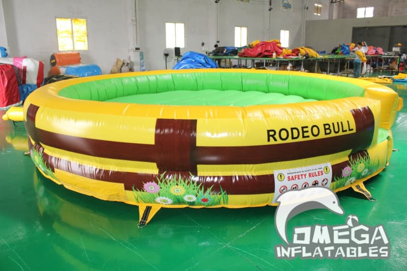 Inflatable Mattress for Mechanical Bull Rodeo - Omega Inflatables