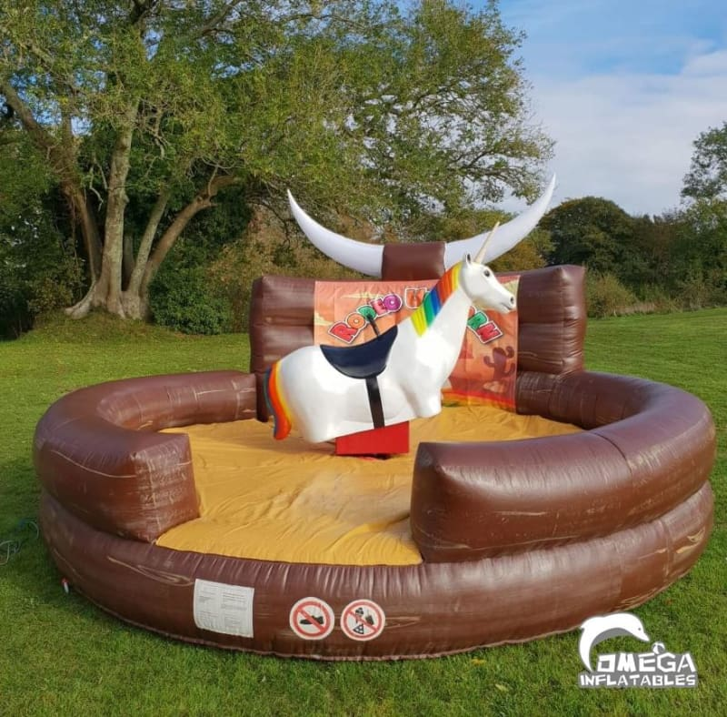 Inflatable Mattress for Mechanical Unicorn Rodeo