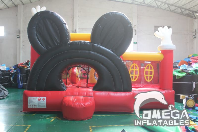 Inflatable Mickey Playland