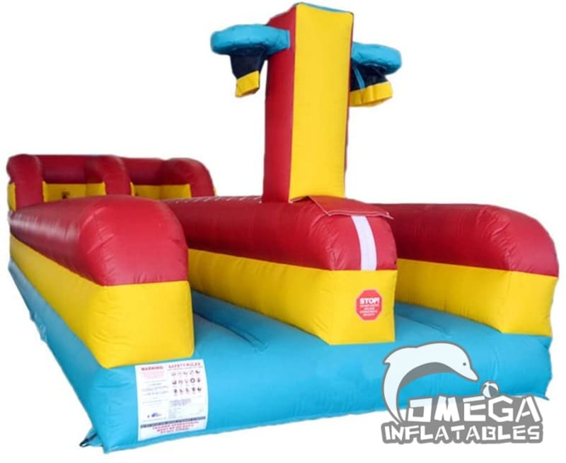 Inflatable Multiplay Bungee Run