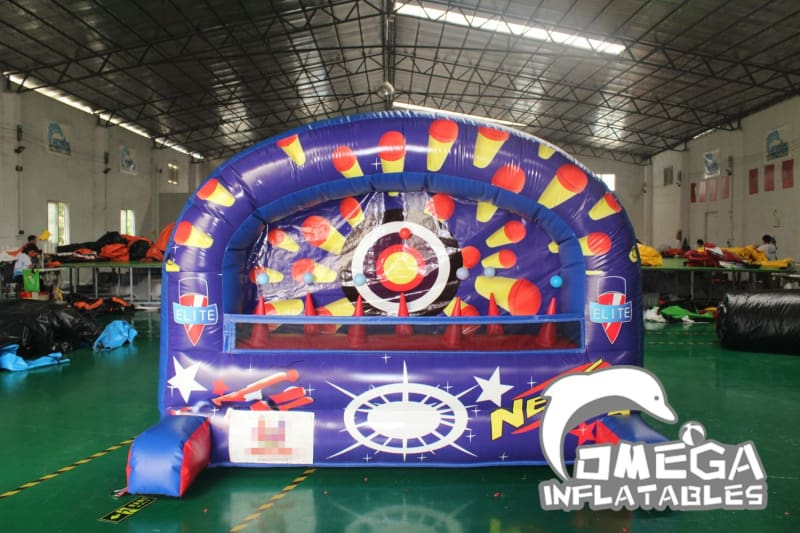 Inflatable Nerf Shooting Game