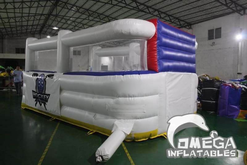 Inflatable NY Rangers Hockey Goal