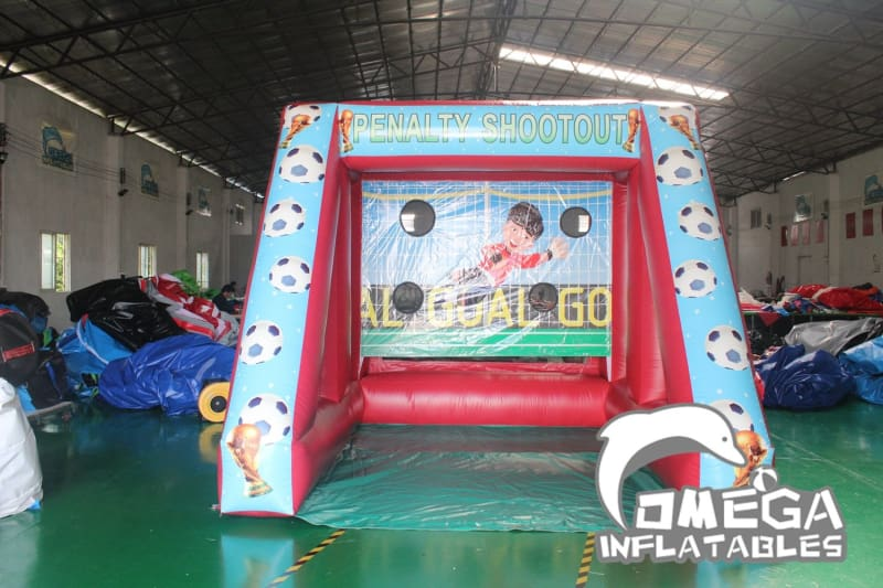 Inflatable Penalty Shootout Game
