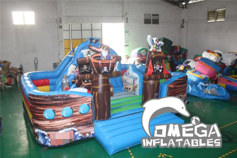 Inflatable Pirate Playland