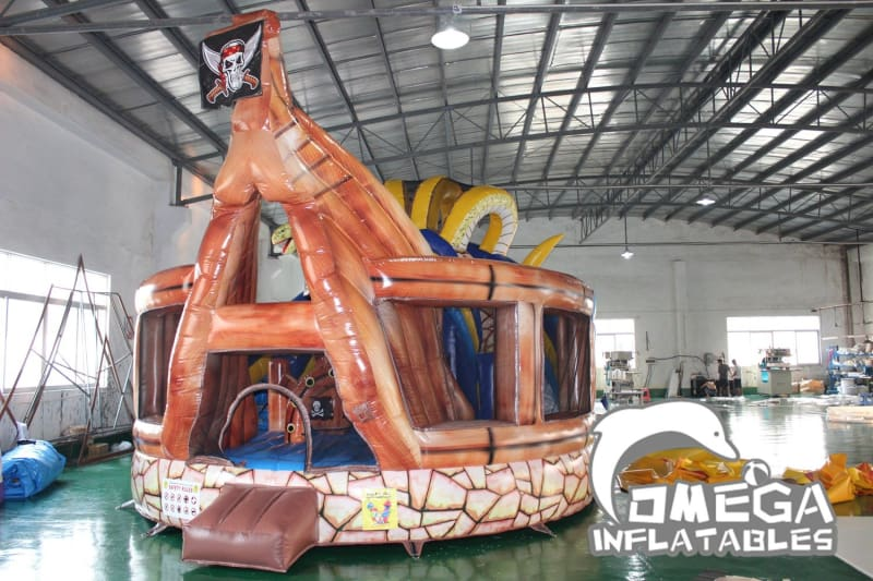 Inflatable Pirate Treasure Island