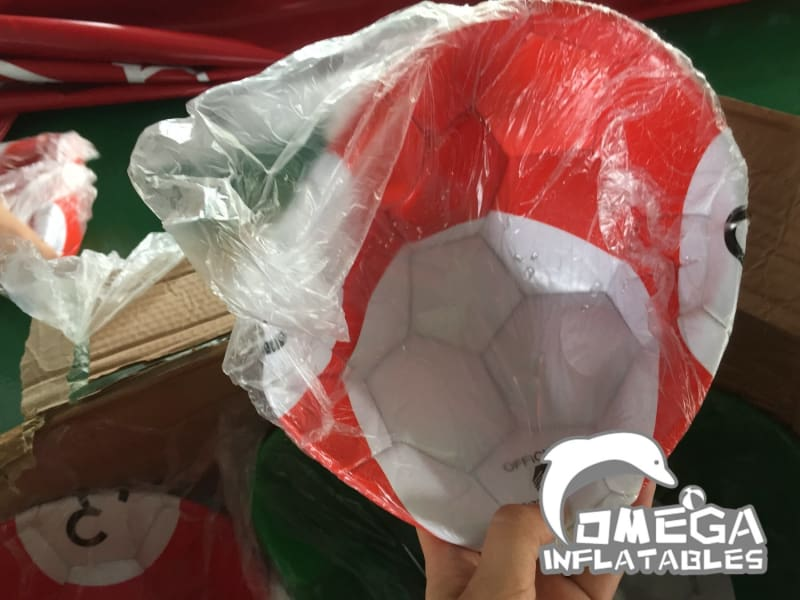 Inflatable Snooker Football - Omega Inflatables