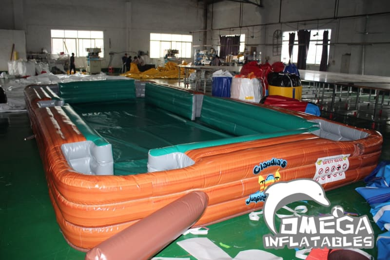 Inflatable Snooker Soccer Game(Billiards) - Omega Inflatables