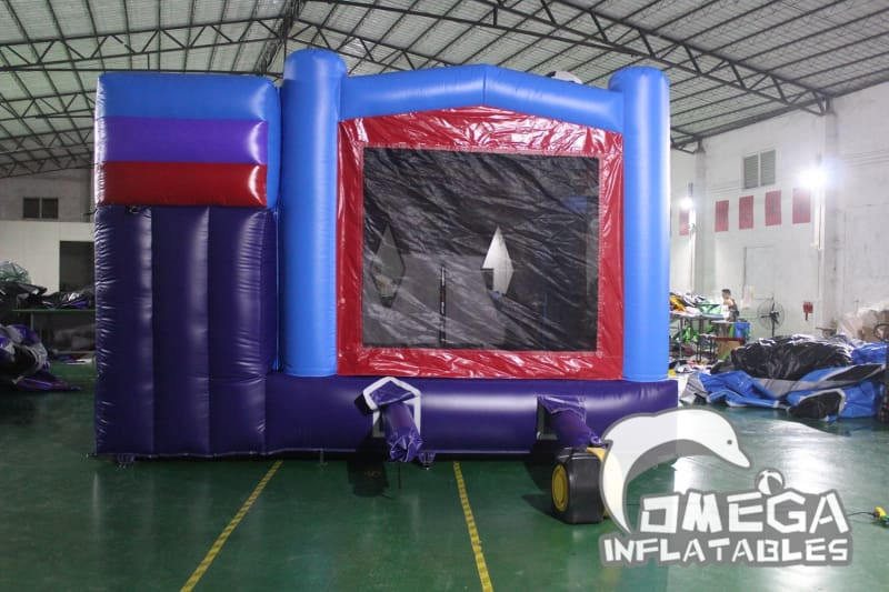 Inflatable Sports Wet Dry Combo