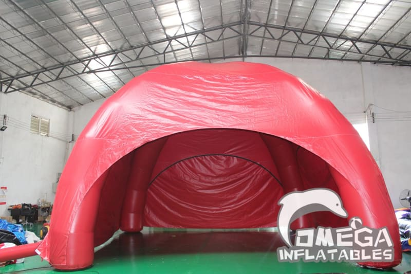 Inflatable Tent with 3 Zipper Door - Omega Inflatables