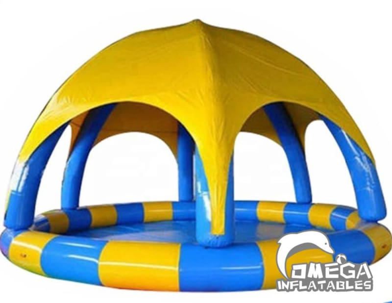 Inflatable Tent with Pool