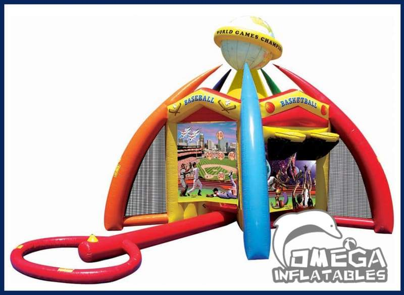Inflatable World Sports Games - Omega Inflatables
