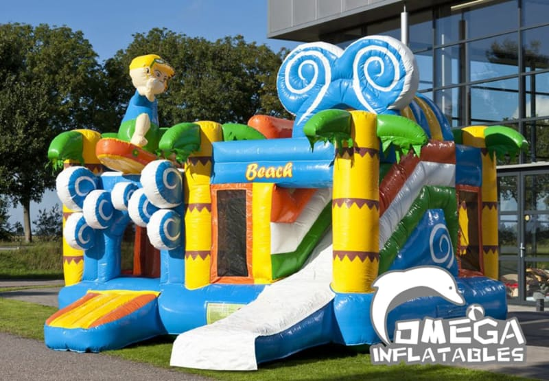Inflatables Beach Jumper Combo