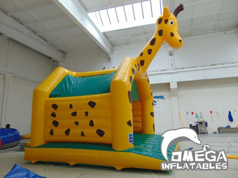 Inflatables Giraffe Bouncy Castle