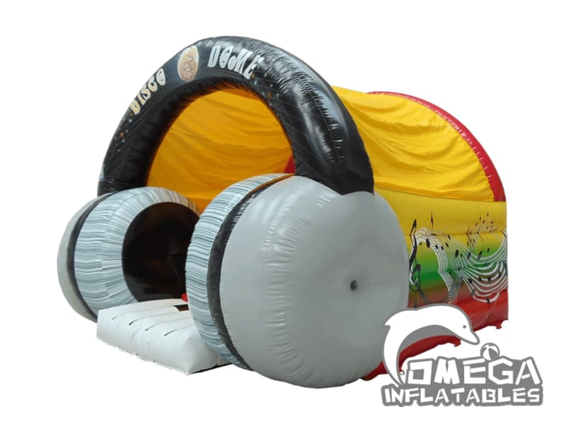 Inflatables Headphone Bouncy Castle