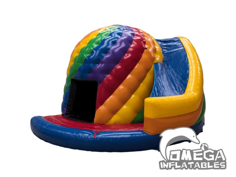 Inflatables Helter Twist Dome bounce castle