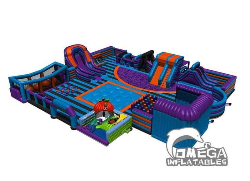 Inflatables Indoor Theme Park