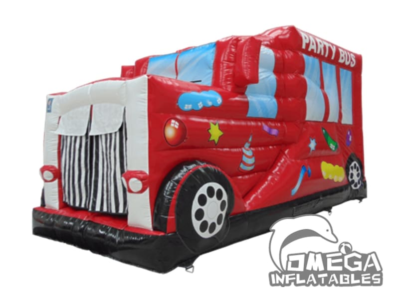 Inflatables jumping Disco Party Bus