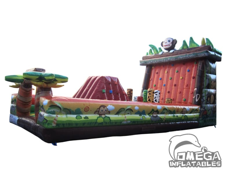 Inflatables Monkey Obstacle Course