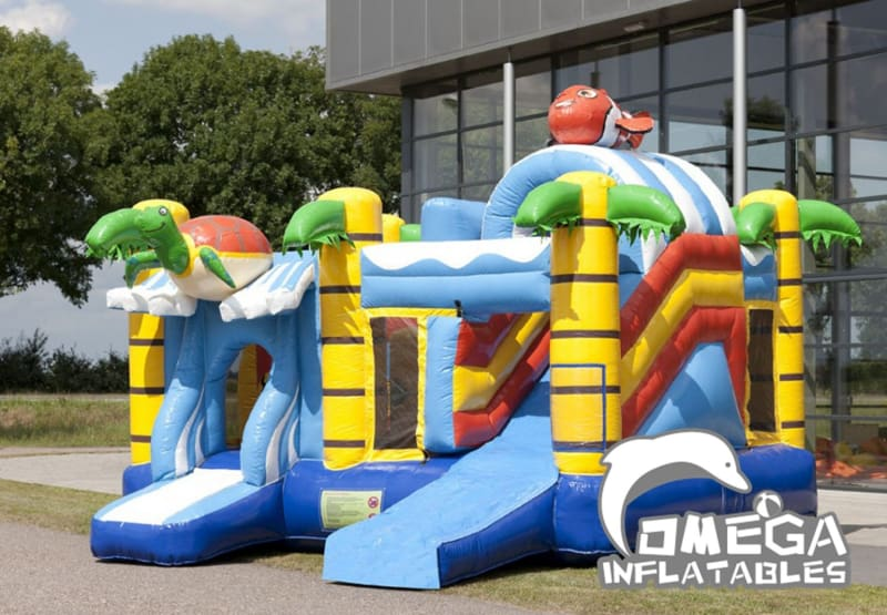 Inflatables Turtle Jumper Combo