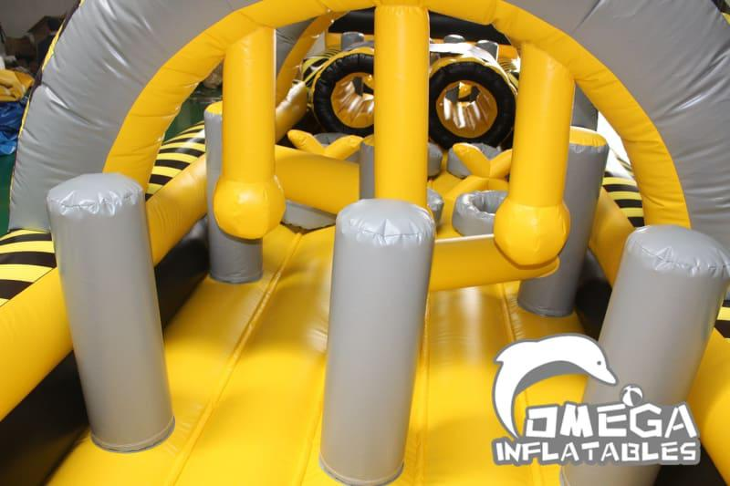 Interactive Atomic Obstacle Course with Pool