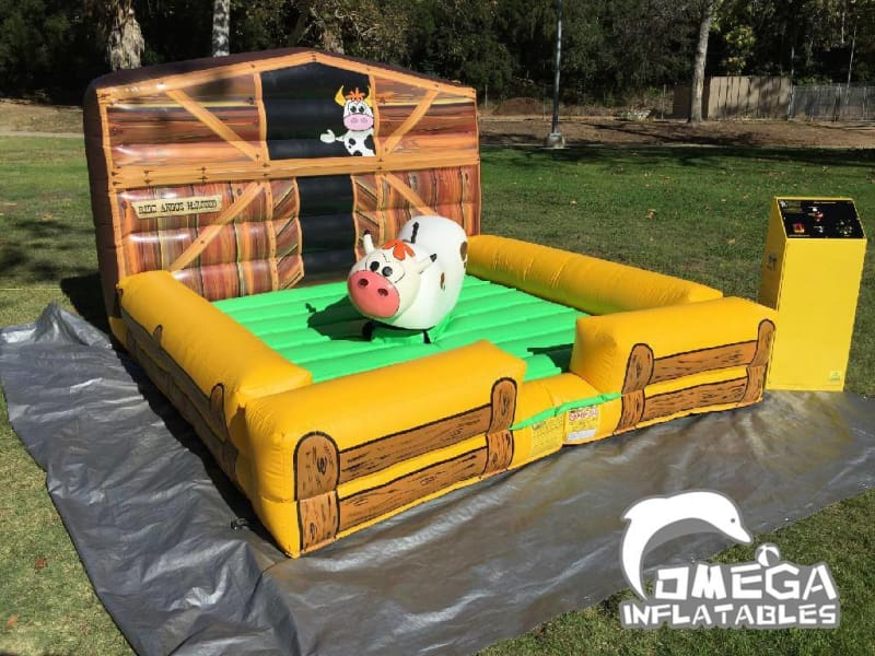 Kids Mechanical Bull with Inflatable Mattress