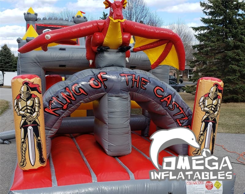 King of Castle Inflatable Obstacle Course