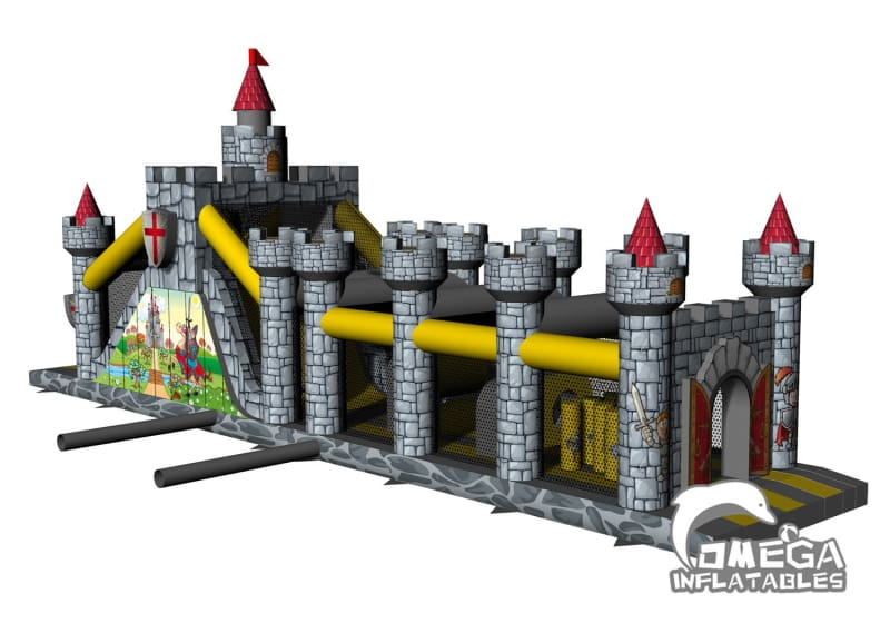 Knight Castle Medieval Obstacle Course