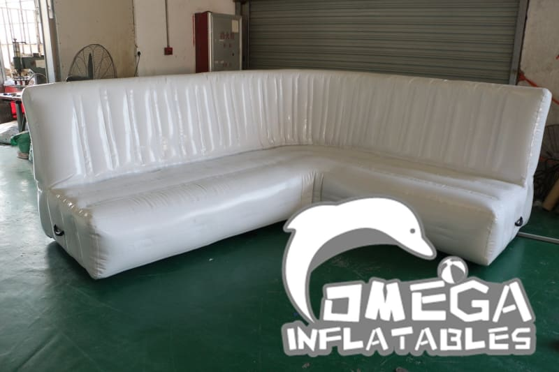 L-Shaped Inflatable Sofa