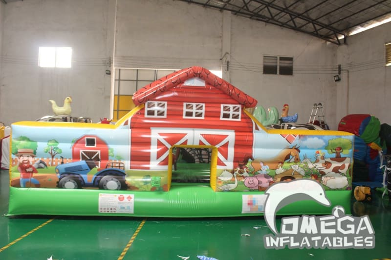 Little Farm inflatable Play Center