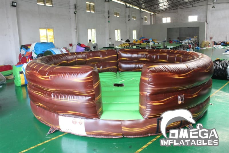 Marble Brown Mattress for Mechanical Bull Rodeo