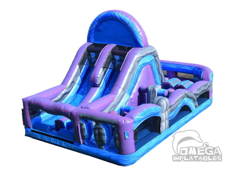 Marble Crush Obstacle Maze
