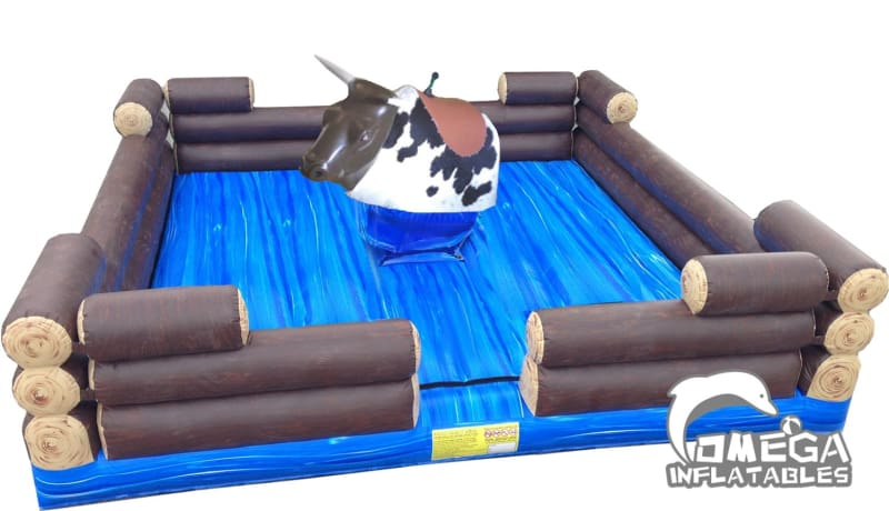 Mechanical Bull with Inflatable Mattress