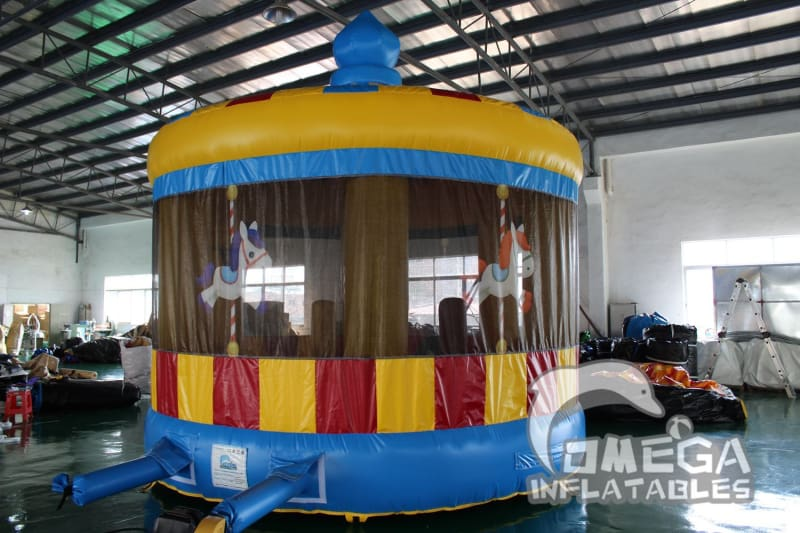 Merry-Go-Round Inflatables Bounce House