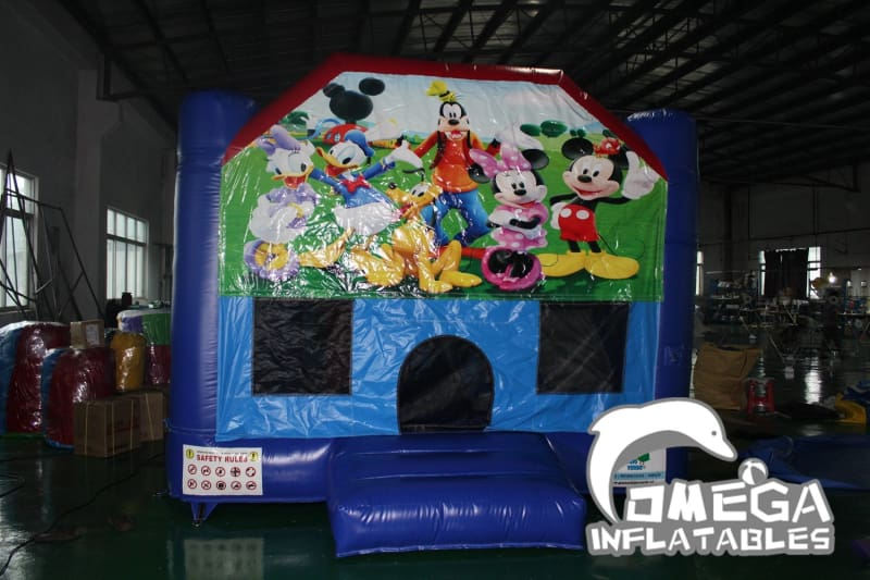 Mickey Clubhouse with Removable banner