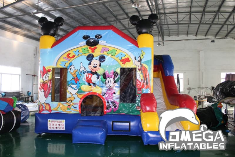 Mickey Park Inflatable Combo