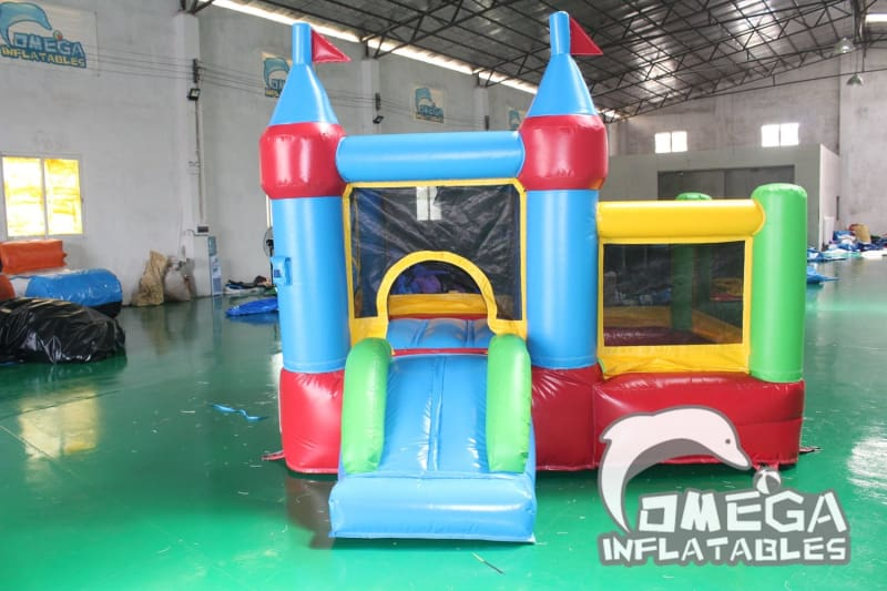Mini Bouncy Castle with Ball Pit