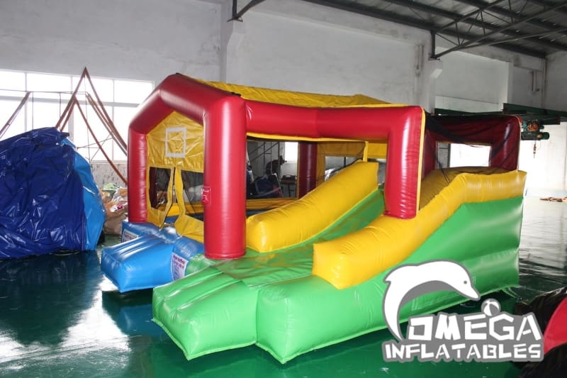 Mini Bouncy Castle with Removable panel(used for indoor/outdoor)