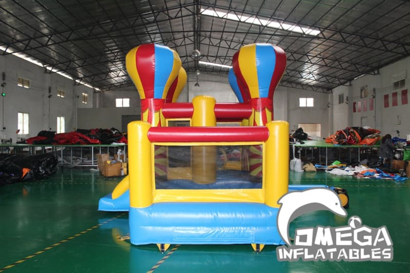 Mini Clown Bouncer with Ball Pit