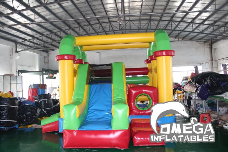 Mini Colorful Inflatable Obstacle Course