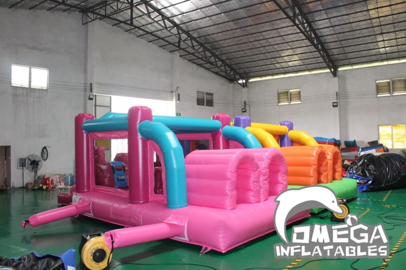Mini Pink Obstacle Course