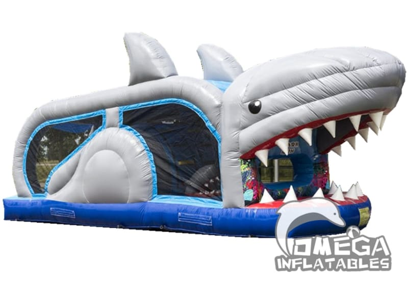 Mini Shark Run Obstacle Course