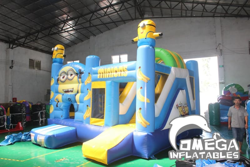 Minions Inflatable Jumping Castle