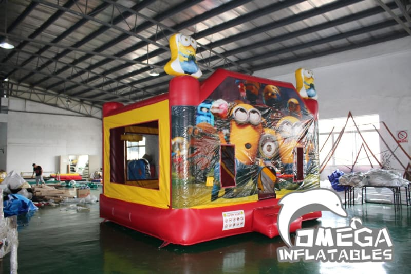 Minions themed Inflatable Combo