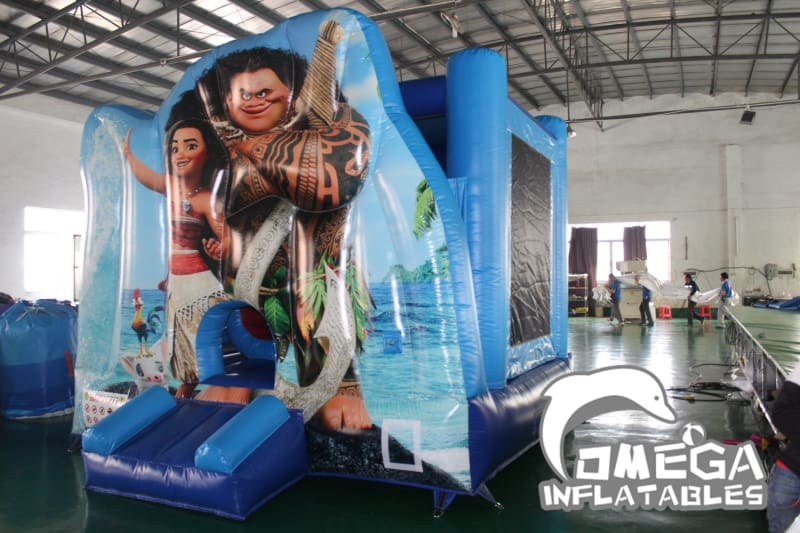 Moana Themed Jumping Castle