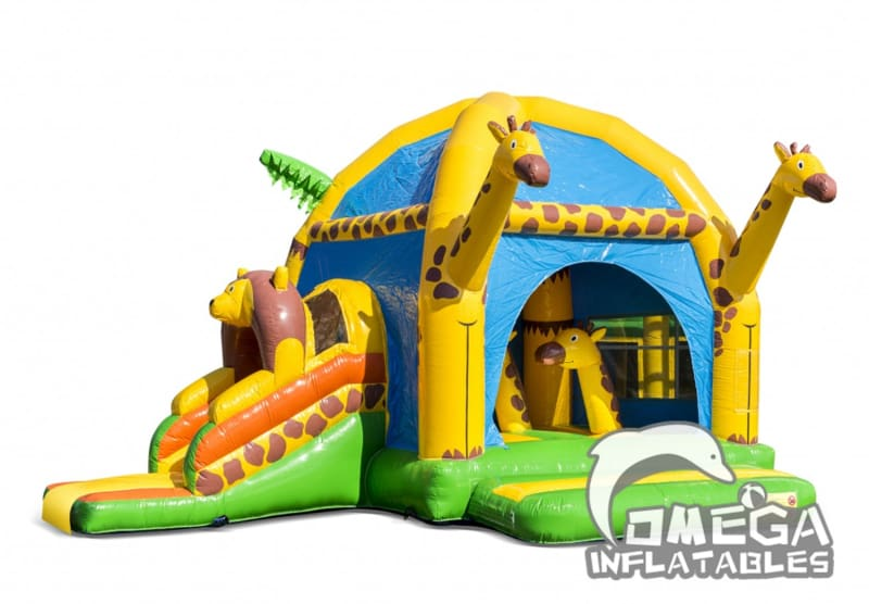 Multiple Jungle Inflatable Combo