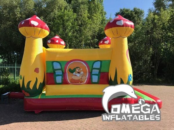 Mushroom Inflatable Bouncy Castle