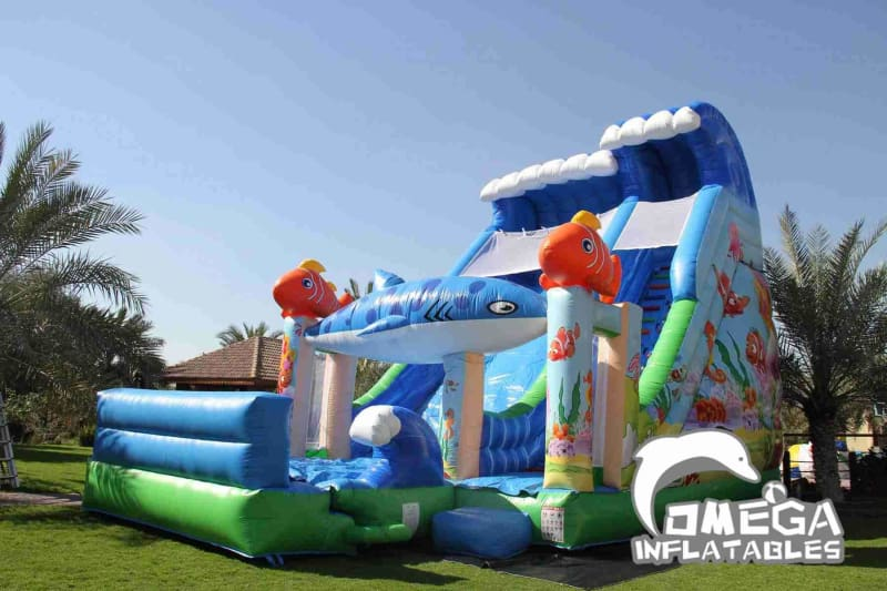 Nemo Inflatable Slide
